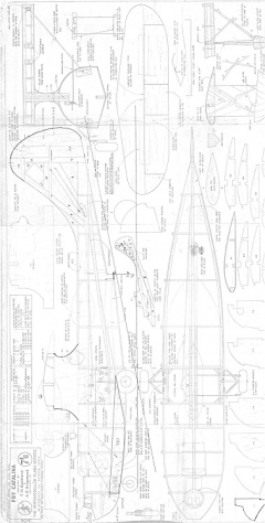 Catalina bottom model airplane plan