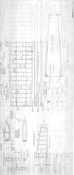 Hercules C-130 2 of 2 - top model airplane plan