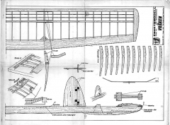 Vraken model airplane plan