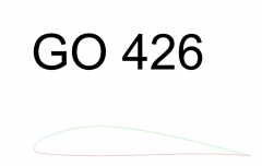 Go426 model airplane plan