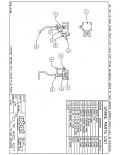 122SP model airplane plan