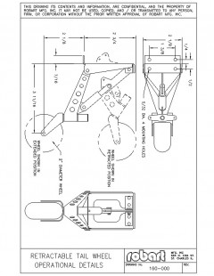 160 model airplane plan