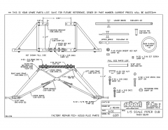 689Spare model airplane plan