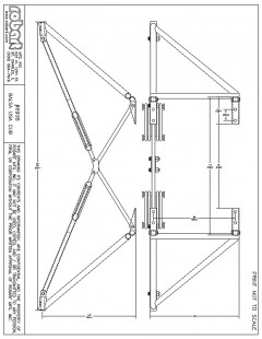 690B model airplane plan