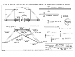 690Spare model airplane plan