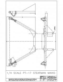 PT17 model airplane plan