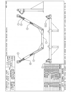 PT17SP model airplane plan