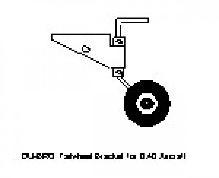 TAILWHEL1 model airplane plan
