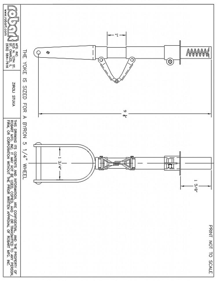 ZSTUKA model airplane plan