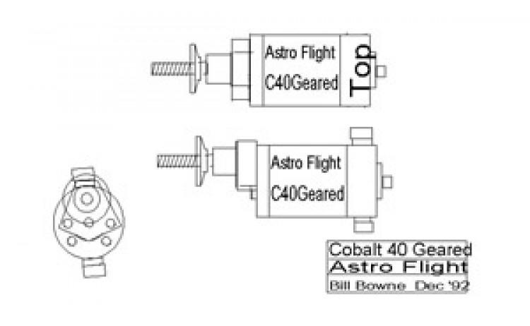 c40g model airplane plan