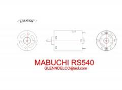 mabuchi540 model airplane plan