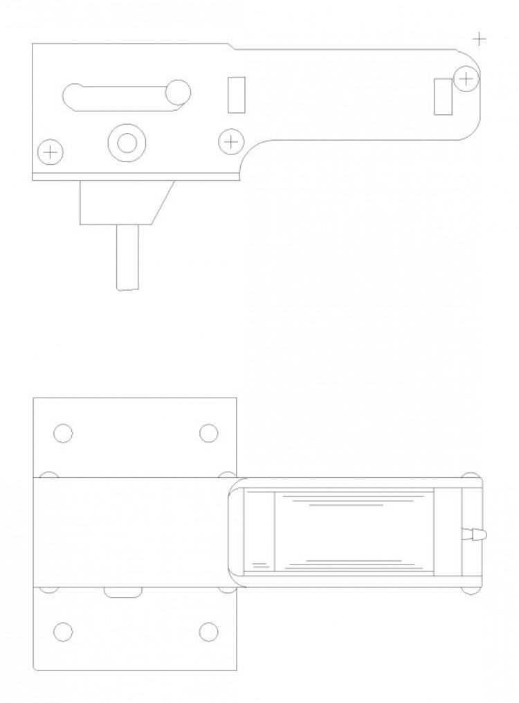 retract1 model airplane plan