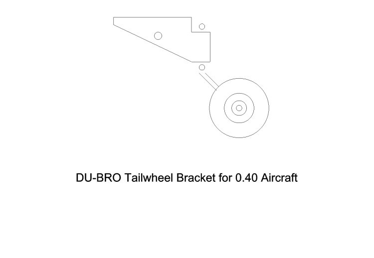 tailwhel1 model airplane plan