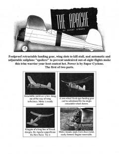 ApachePt1 model airplane plan