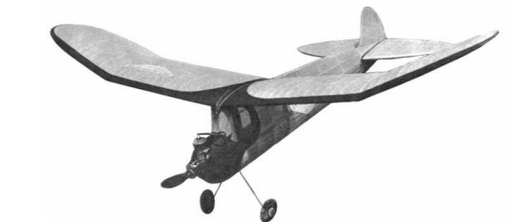 Brooklyn Dodger. model airplane plan