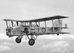 Boulton Paul Overstrand model airplane plan