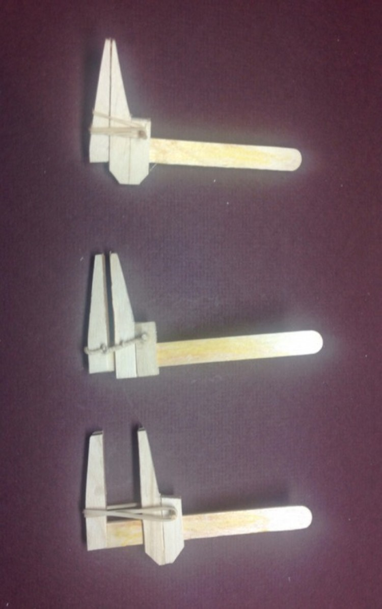Model Building Clamps model airplane plan