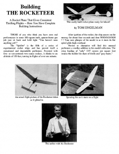 fire model airplane plan