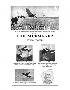 pmaker model airplane plan