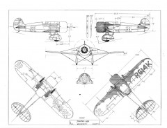 Travelair mysteryship model airplane plan