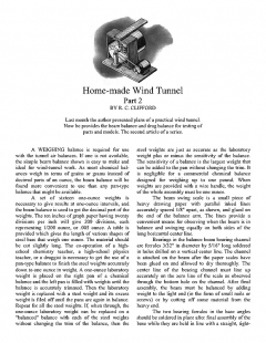 Home-made Wind Tunnel pt. 2 model airplane plan