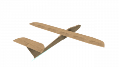 FTU1 model airplane plan