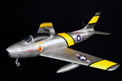 F-86 Sabre model airplane plan
