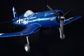 F-4U Corsair model airplane plan