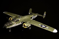 B-25J Mitchell model airplane plan