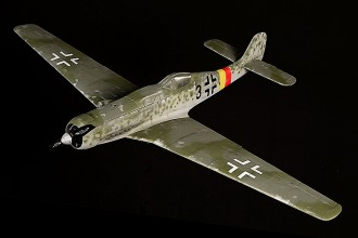 TA-152H Focke-Wulf model airplane plan