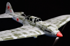 IL-2 M3 STURMOVIK model airplane plan