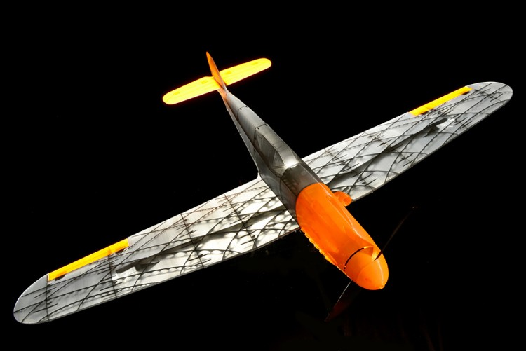 MESSERSCHMITT BF 109 F or H model airplane plan