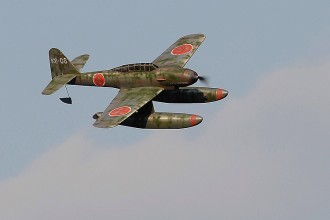 AICHI M6A Seiran model airplane plan
