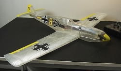 MESSERSCHMITT BF 109T model airplane plan
