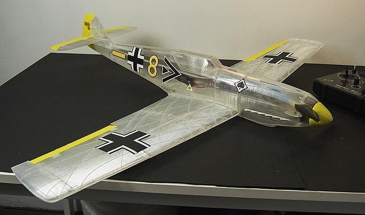 MESSERSCHMITT BF 109T model airplane plan