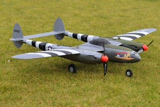 P-38 LIGHTNING model airplane plan