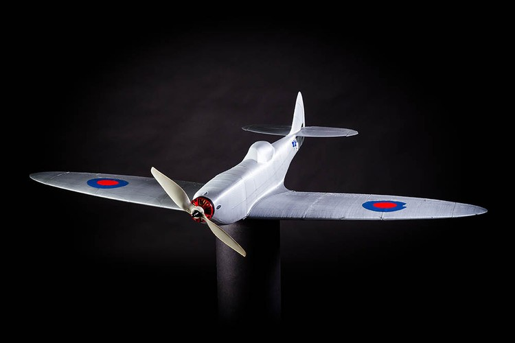 SPITFIRE MK XVI model airplane plan