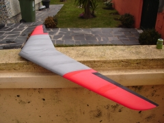 WKlingberg Flying Wing model airplane plan