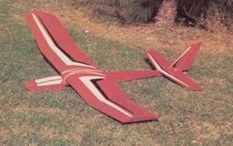 2 x 4 model airplane plan