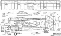 30s sportplane model airplane plan