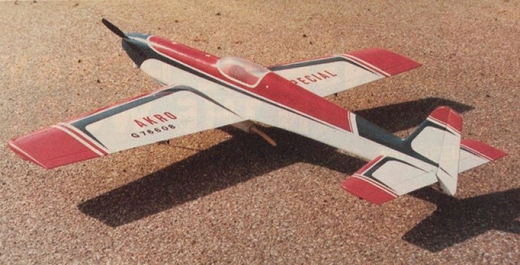 Acro Special model airplane plan