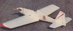 Aero-Duster model airplane plan