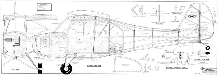 Aeronca 7-AC Champion model airplane plan
