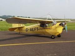 Aeronca C-3 model airplane plan