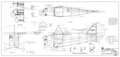 Aeronca C3 model airplane plan