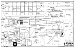 Air Cabin Jr. Plan 937 model airplane plan