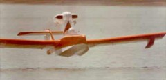 Air Skimmer model airplane plan