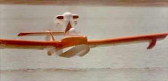 Air Skimmer model airplane plan
