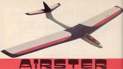 Airster model airplane plan