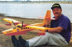 Albatros model airplane plan